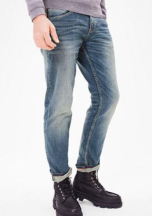 Tubx Straight: striking denim jeans from s.Oliver