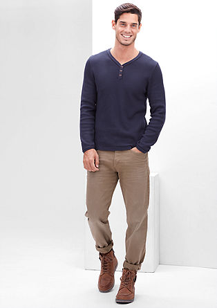 Tubx Straight: Temne raztegljive jeans hlače
