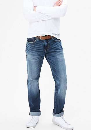 Tubx Straight: Used-Denim
