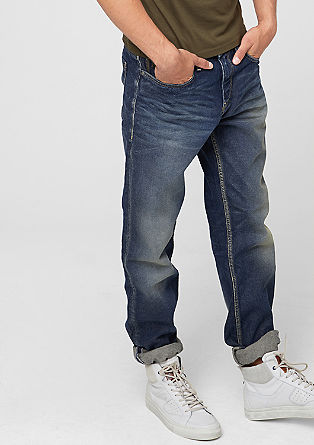 Tubx Straight: Used-Jeans