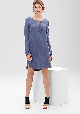Tunika-Kleid mit feinem Schimmer