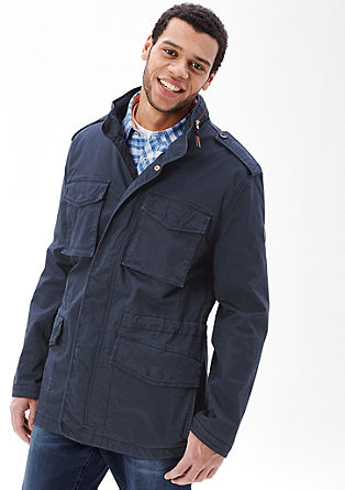 Twill jacket in a vintage look from s.Oliver