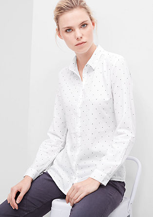 Twill shirt blouse from s.Oliver