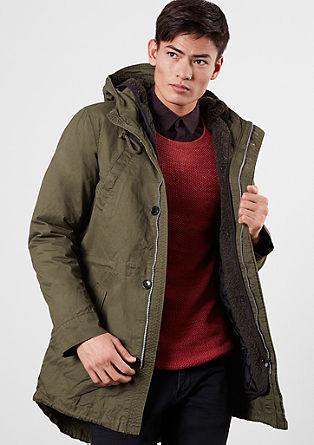 Two-in-one jacket in a parka look from s.Oliver