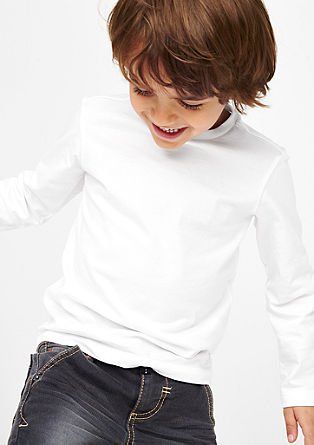 Two-pair pack of basic long sleeve T-shirts from s.Oliver