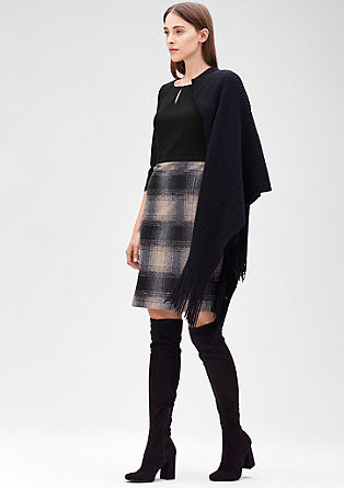 Two-tone dress from s.Oliver