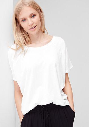 Udobna majica z netopirskimi rokavi