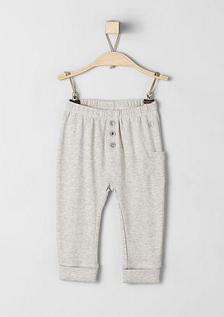 Udobne rebraste hlače