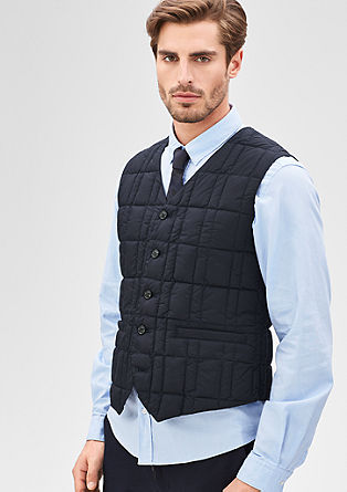 Ultra lightweight quilted gilet from s.Oliver