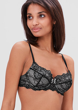 Underwire bra with lots of lace from s.Oliver