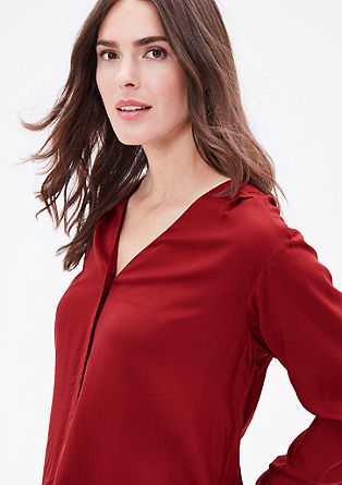 V-neck modal blouse from s.Oliver