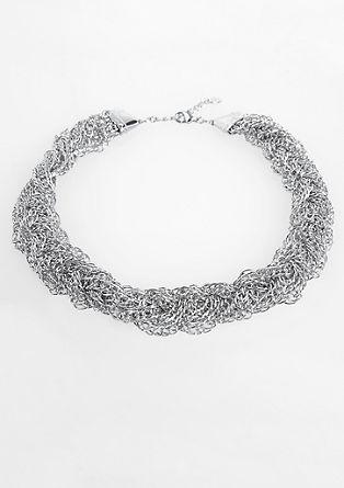 Večdelna prepletena ogrlica