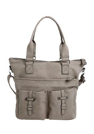 Večja torba z okrasnim pasom