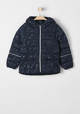 Večnamenska vzorčasta prešita jakna