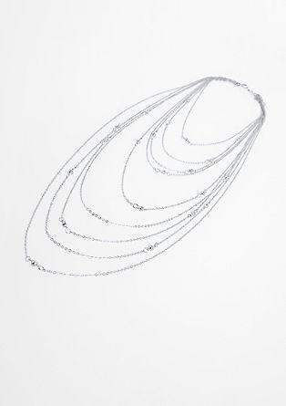 Večredna ogrlica z okrasnimi kamenčki