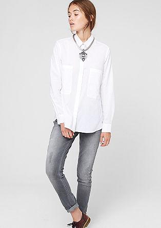 Velika srajčna bluza z XL žepi