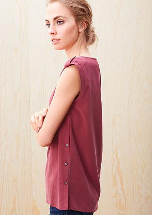 Velvety blouse top from s.Oliver