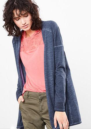 Vest in cold pigment dye