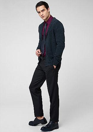 Vest met de look van een colbert