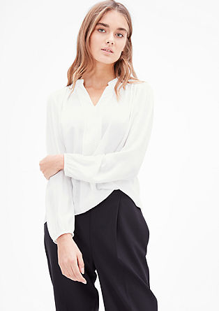 Vezena bluza v slogu tunike