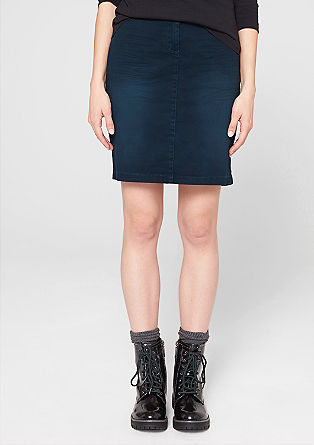 Vintage-look stretch skirt from s.Oliver