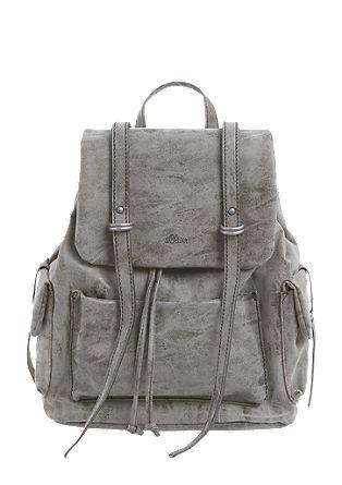 Vintage-style rucksack from s.Oliver