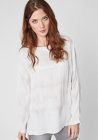 Viscose blouse in a batik design from s.Oliver