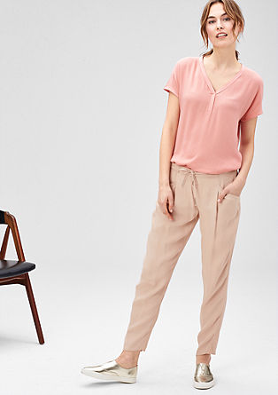 Viscose tracksuit bottoms from s.Oliver