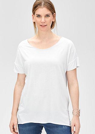 Viskose-Shirt mit Sternenprint