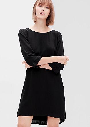 Vokuhila-Kleid aus Jacquard