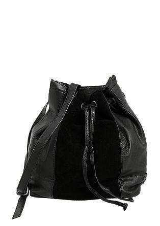 Vrečasta torba iz usnja