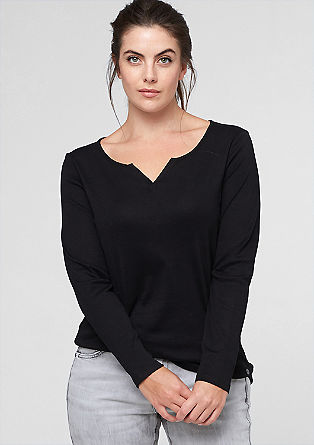 Vrouwelijke basic longsleeve
