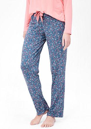 Vzorčast spodnji del pižame
