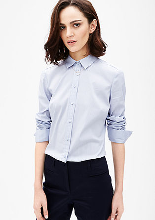 Vzorčasta srajčna bluza