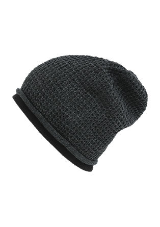 Waffle piqué beanie from s.Oliver