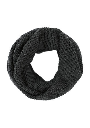 Waffle piqué snood from s.Oliver