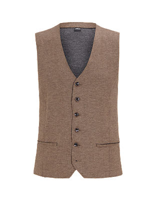 Waistcoat in an inside-out look from s.Oliver