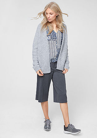 Warm bouclé cardigan from s.Oliver