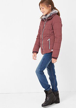 Warm gewatteerde winterjas