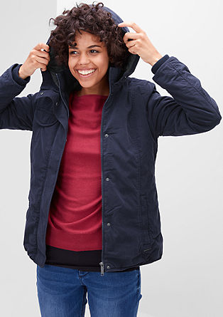 Warm hooded jacket from s.Oliver