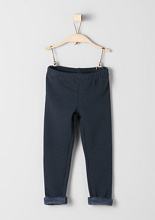Warm jersey leggings from s.Oliver