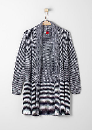 Warm knit cardigan from s.Oliver