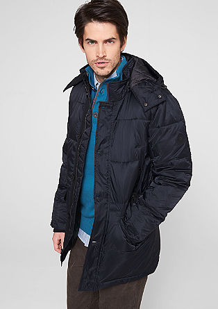 Warmly lined quilted jacket from s.Oliver