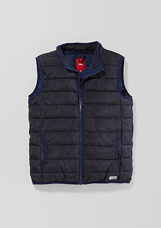 Water-resistant body warmer from s.Oliver