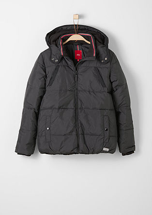 Water-resistant down jacket from s.Oliver