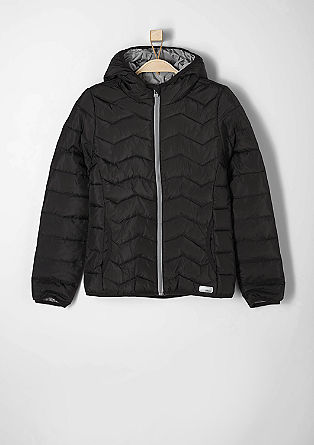 Water-resistant quilted jacket from s.Oliver
