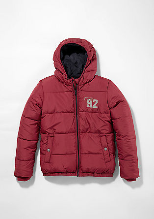 Water-resistant winter jacket from s.Oliver