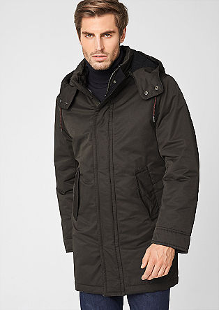 Water-resistant winter parka from s.Oliver