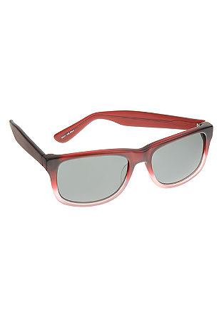 Wayfarer-Sonnenbrille mit Verlauf