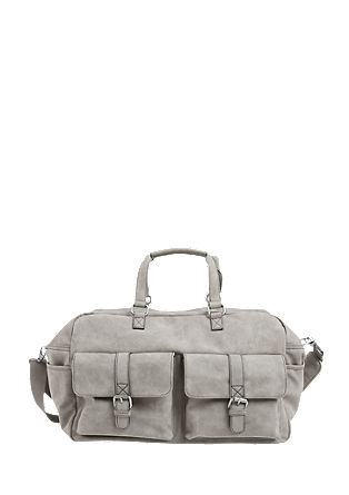 Weekend bag with a matte finish from s.Oliver